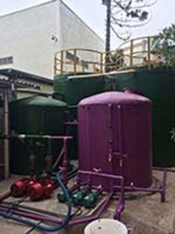 Empresa de reuso de água