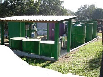 Estação de tratamento esgoto industrial