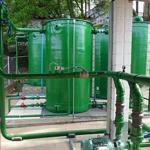 Estação de tratamento de águas cinzas