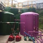 Estação de tratamento de esgoto sanitário