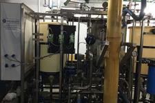 Operação de estação de tratamento de água